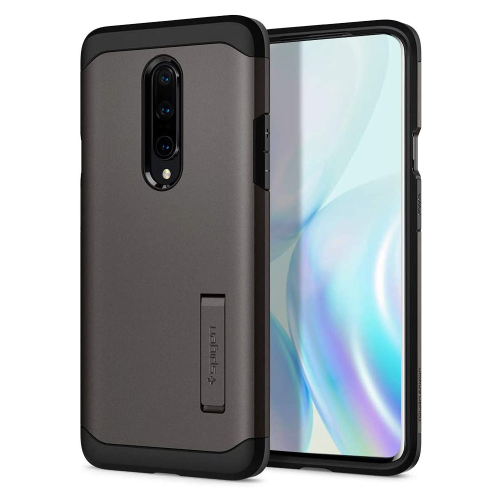 Spigen OnePlus 8 Case Tough Armor Gunmetal ACS00831