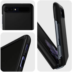 Spigen Galaxy Z Flip Case Thin Fit Black ACS01033