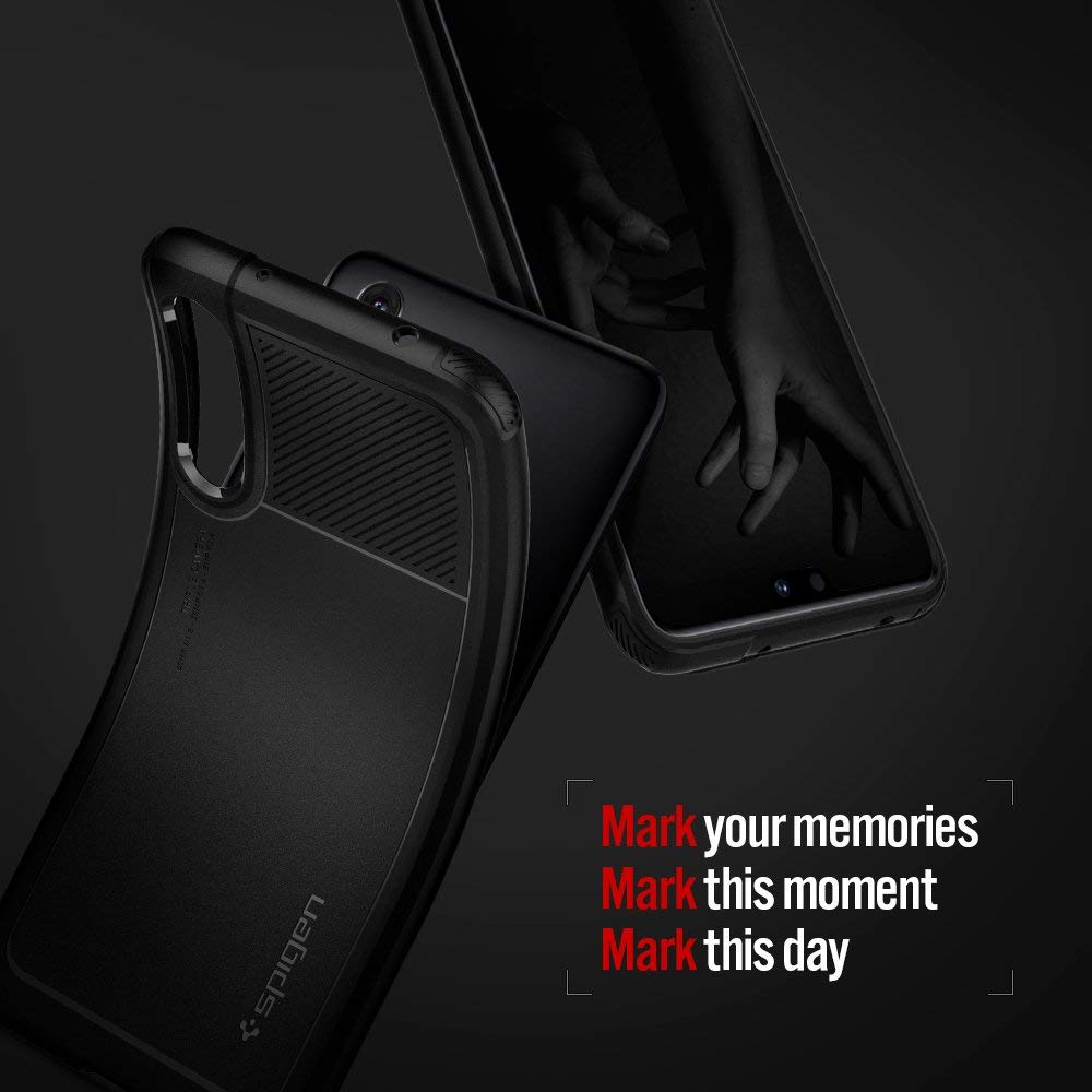 Spigen HUAWEI P20 Pro Case Marked Armor Black L23CS24400