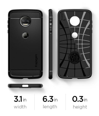 Spigen Moto Z2 Force Case Rugged Armor Black M15CS22296
