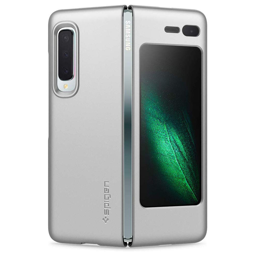 Spigen Galaxy Fold Case Thin Fit Satin Silver 615CS26160
