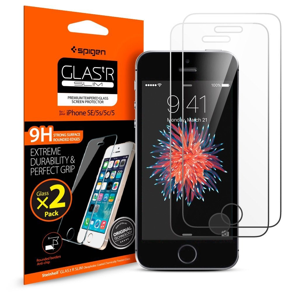 Spigen iPhone SE / 5S / 5 / 5c Screen Protector GLAS.tR SLIM 041GL20166
