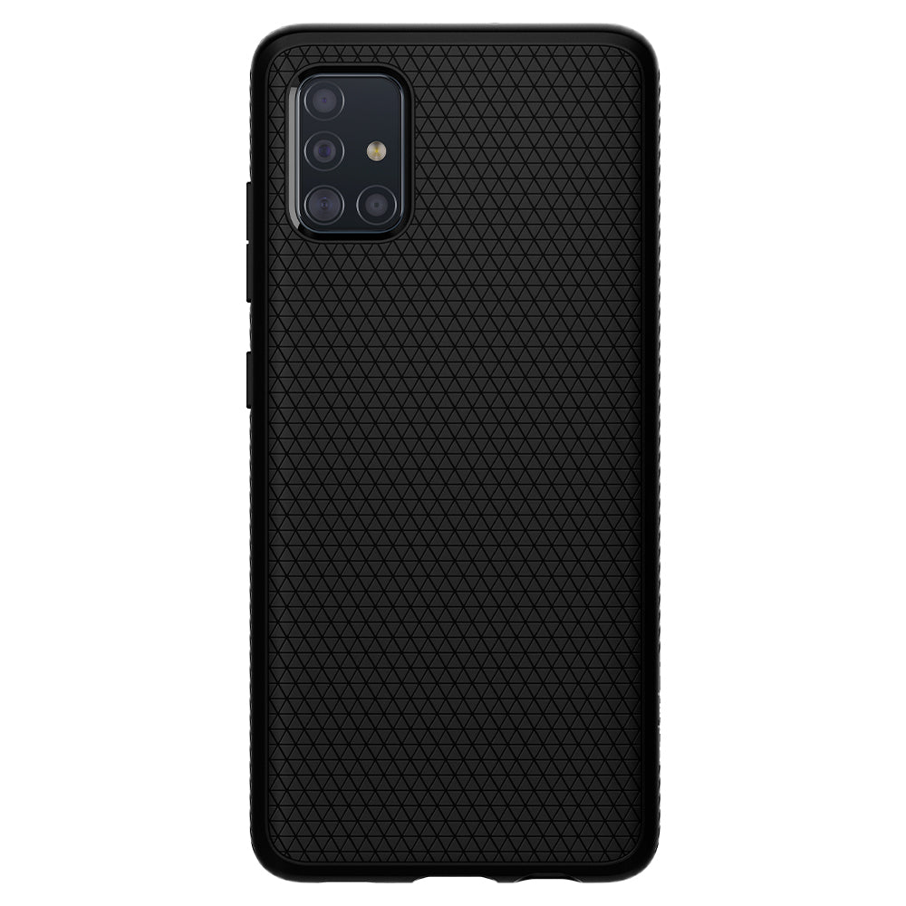 Spigen Galaxy A51 Case Liquid Air Matte Black ACS00601