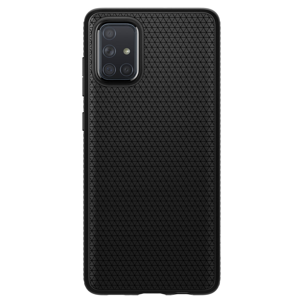 Spigen Galaxy A71 Case Liquid Air Matte Black ACS00602