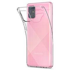 Spigen Galaxy A71 Case Liquid Crystal Crystal Clear ACS00566