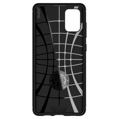 Spigen Galaxy A71 Case Rugged Armor Matte Black ACS00565