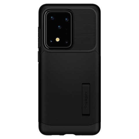 Spigen Galaxy S20 Ultra Case Slim Armor Black ACS00636