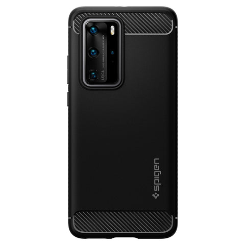 Spigen Huawei P40 Pro Case Rugged Armor Matte Black ACS00968