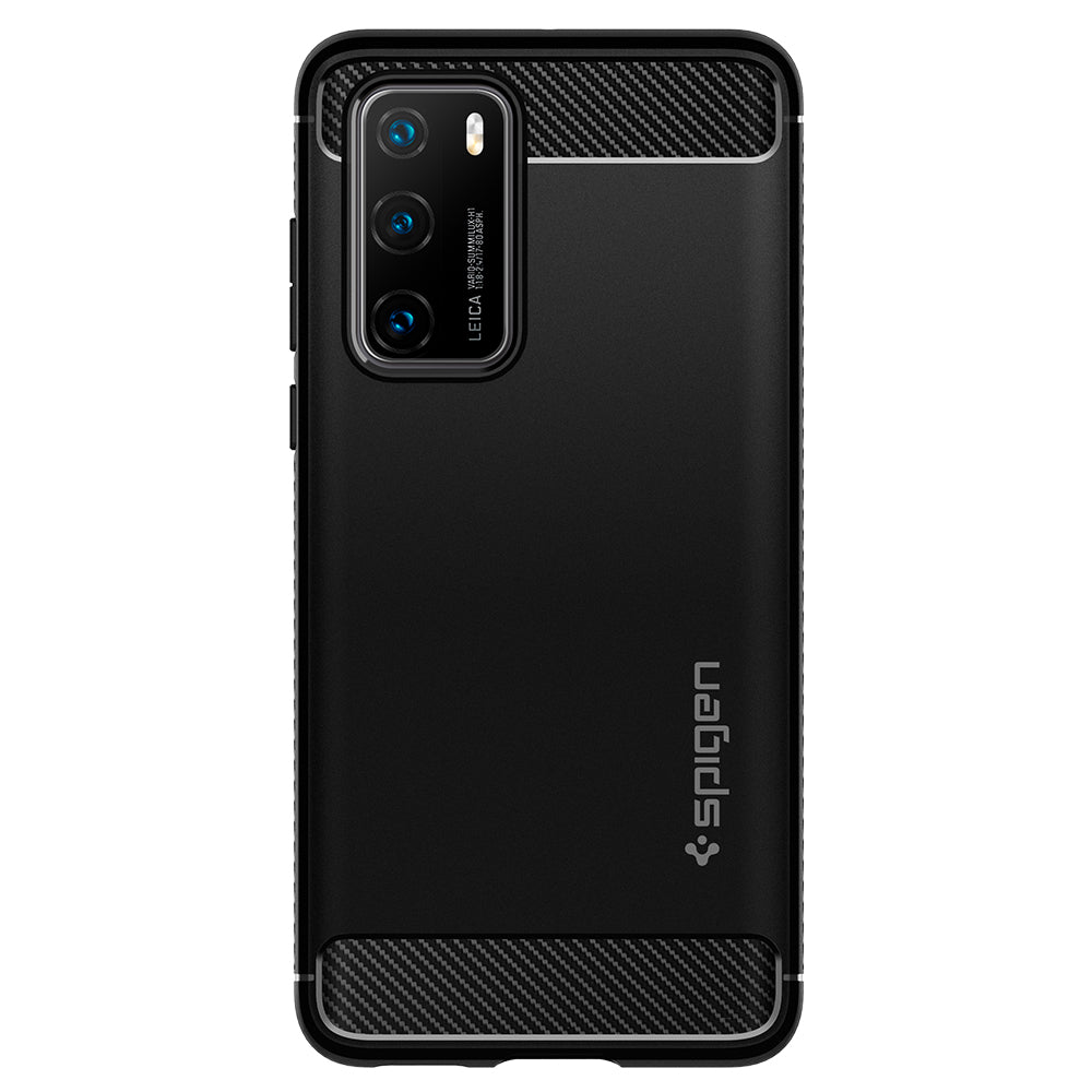 Spigen Huawei P40 Case Rugged Armor Matte Black ACS00970