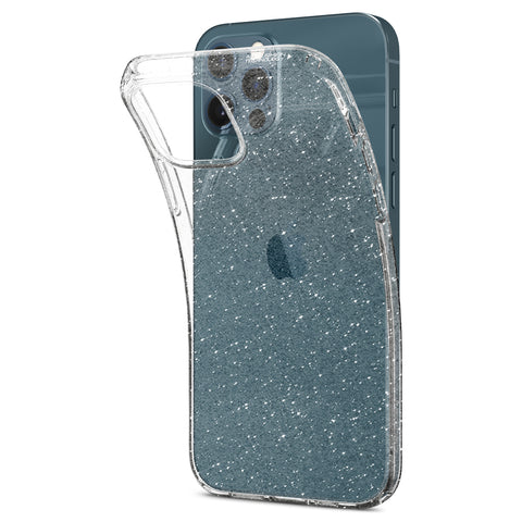 iPhone 12 / iPhone 12 Pro Case Liquid Crystal Glitter