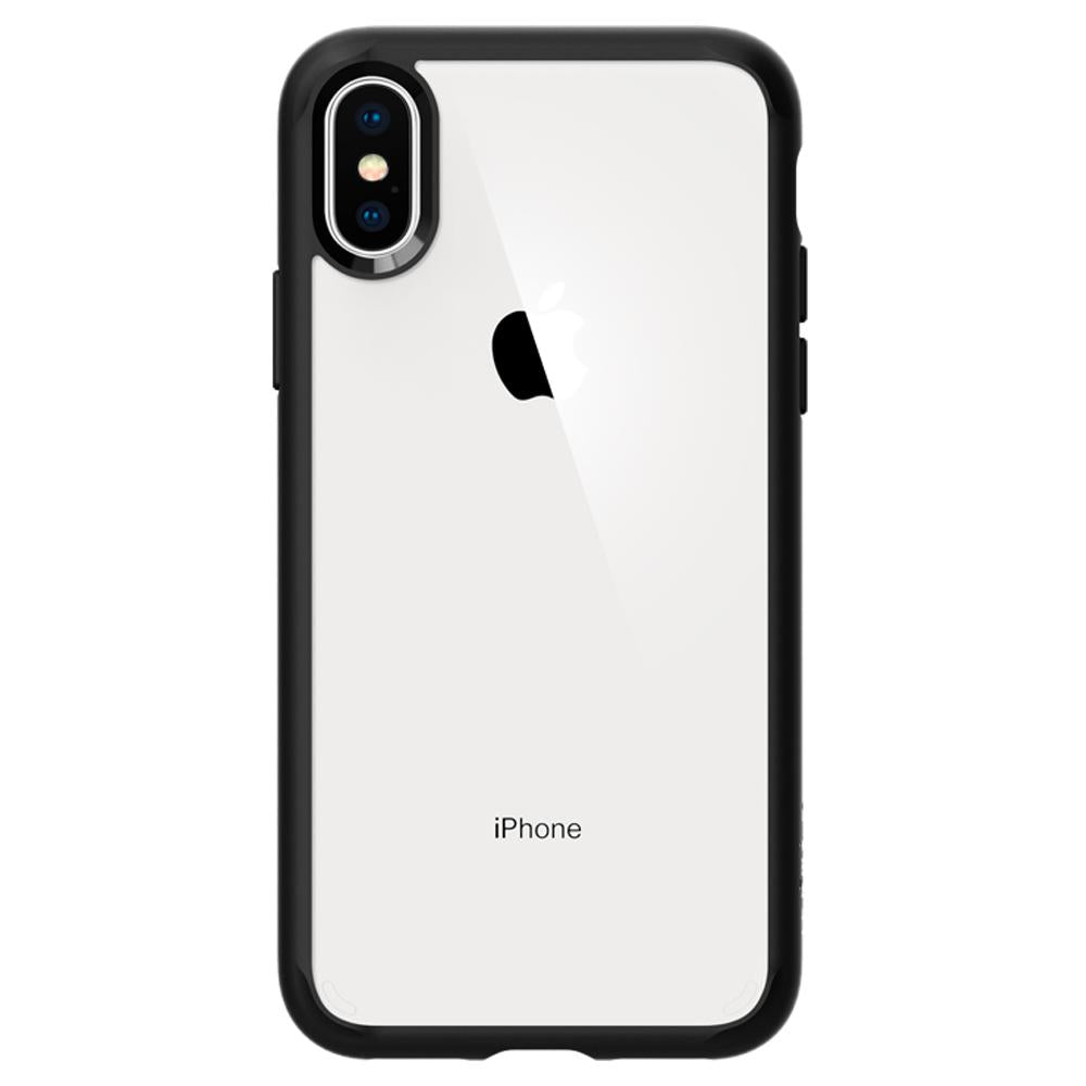 Spigen iPhone XS / X Case Ultra Hybrid Matte Black 063CS25116