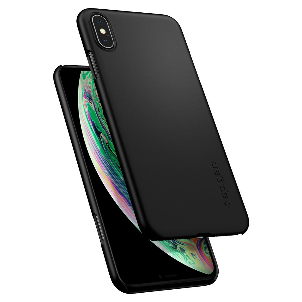 Spigen iPhone XS Max Case Thin Fit Black 065CS24824