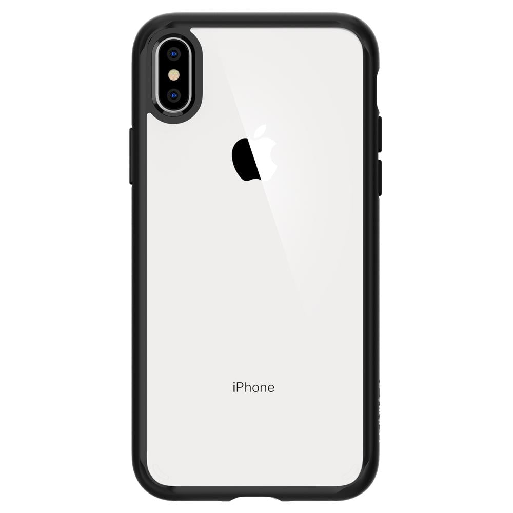 Spigen iPhone XS Max Case Ultra Hybrid Matte Black 065CS25128