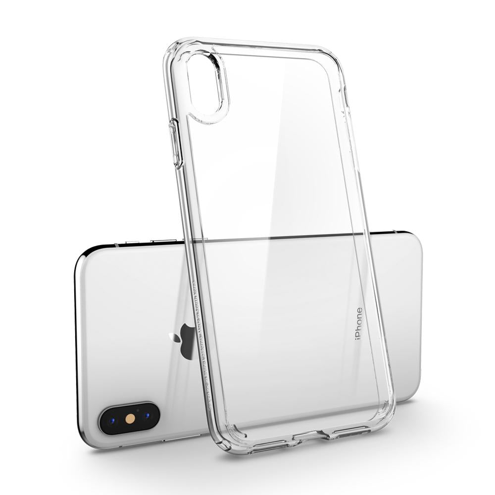 Spigen iPhone XS Max Case Ultra Hybrid Crystal Clear 065CS25127