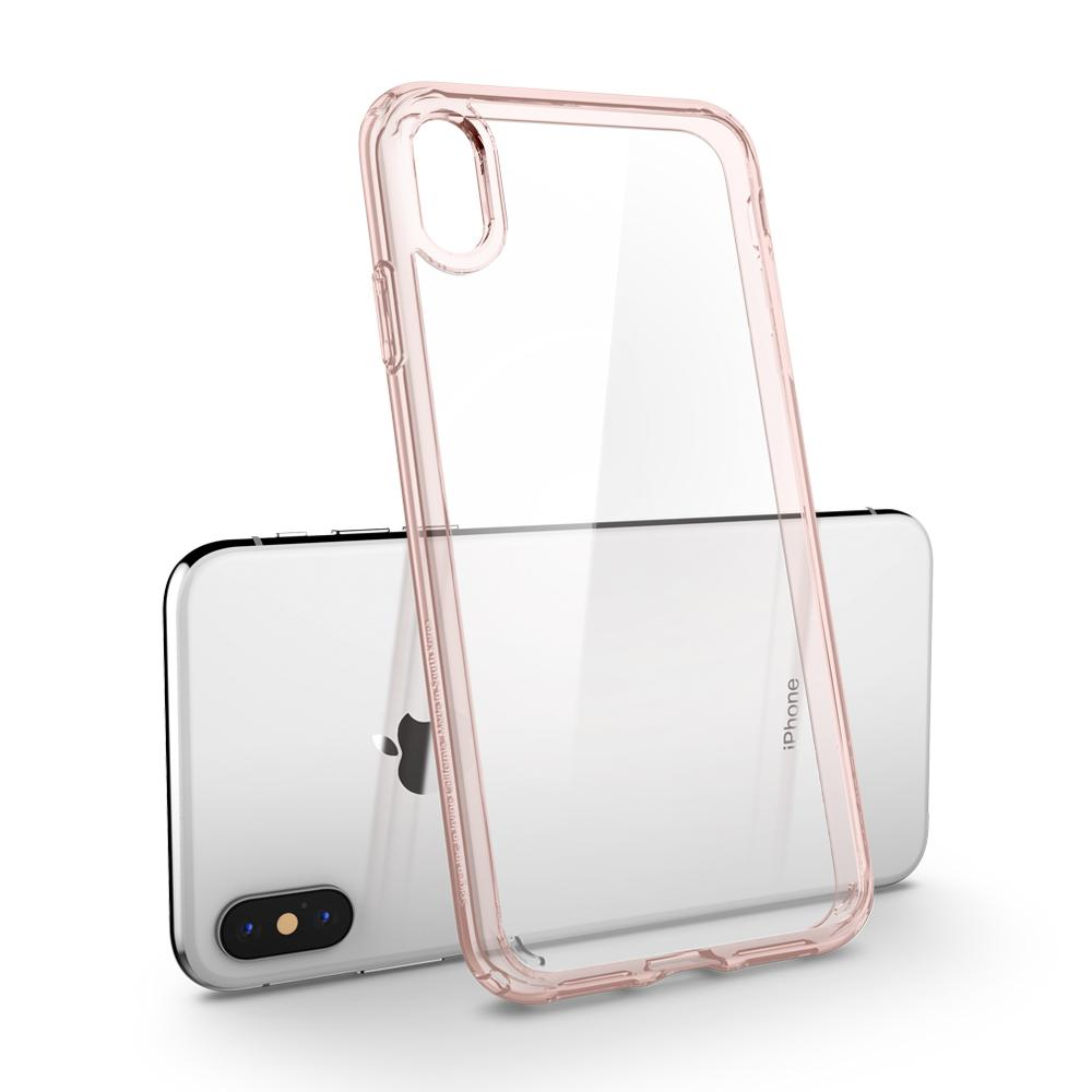 Spigen iPhone XS Max Case Ultra Hybrid Rose Crystal 065CS25129