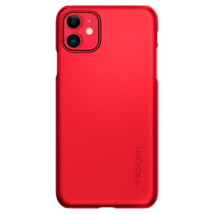 Spigen iPhone 11 Case Thin Fit Red ACS00403