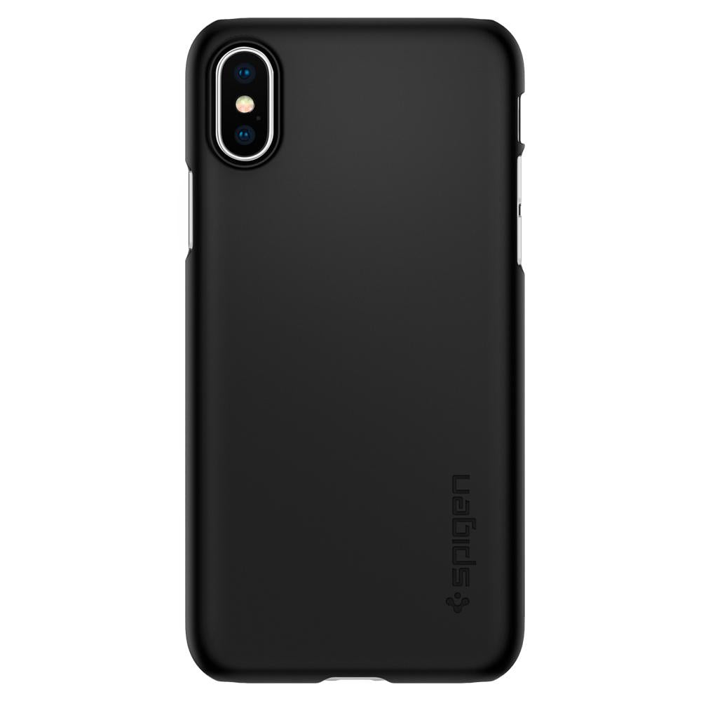 Spigen iPhone XS Case Thin Fit Black 063CS24904