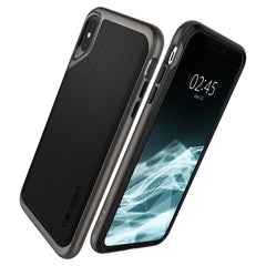 Spigen iPhone XS Max Case Neo Hybrid Gunmetal 065CS24838