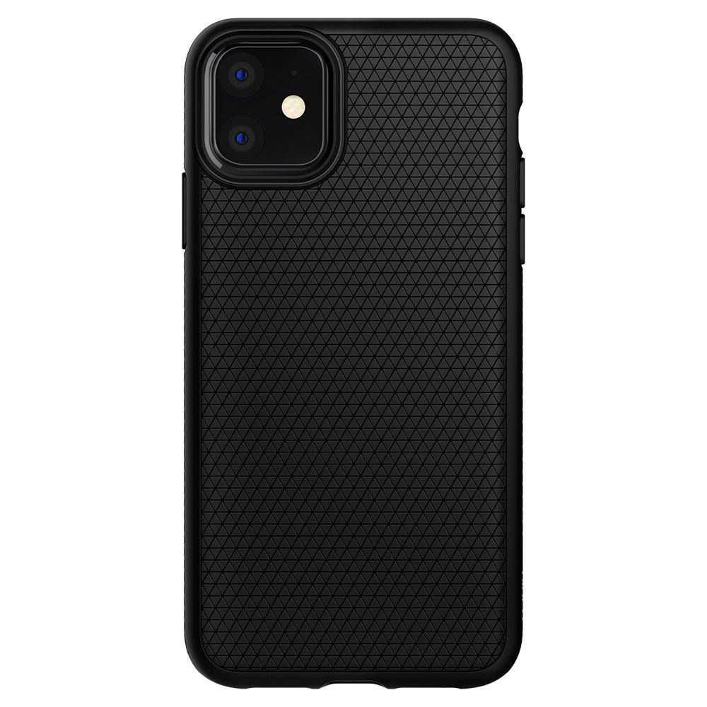 Spigen iPhone 11 Case Liquid Air Matte Black 076CS27184