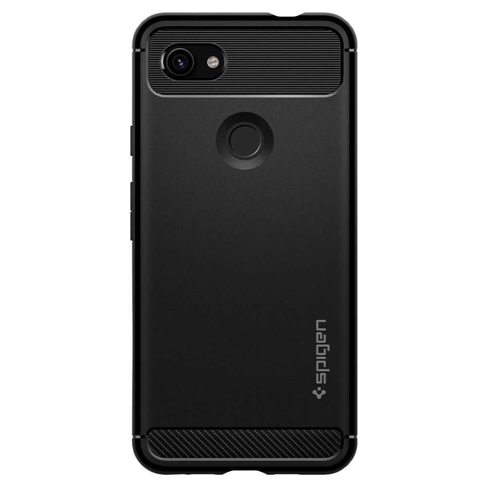 Spigen Pixel 3a Case Rugged Armor Matte Black F23CS25960