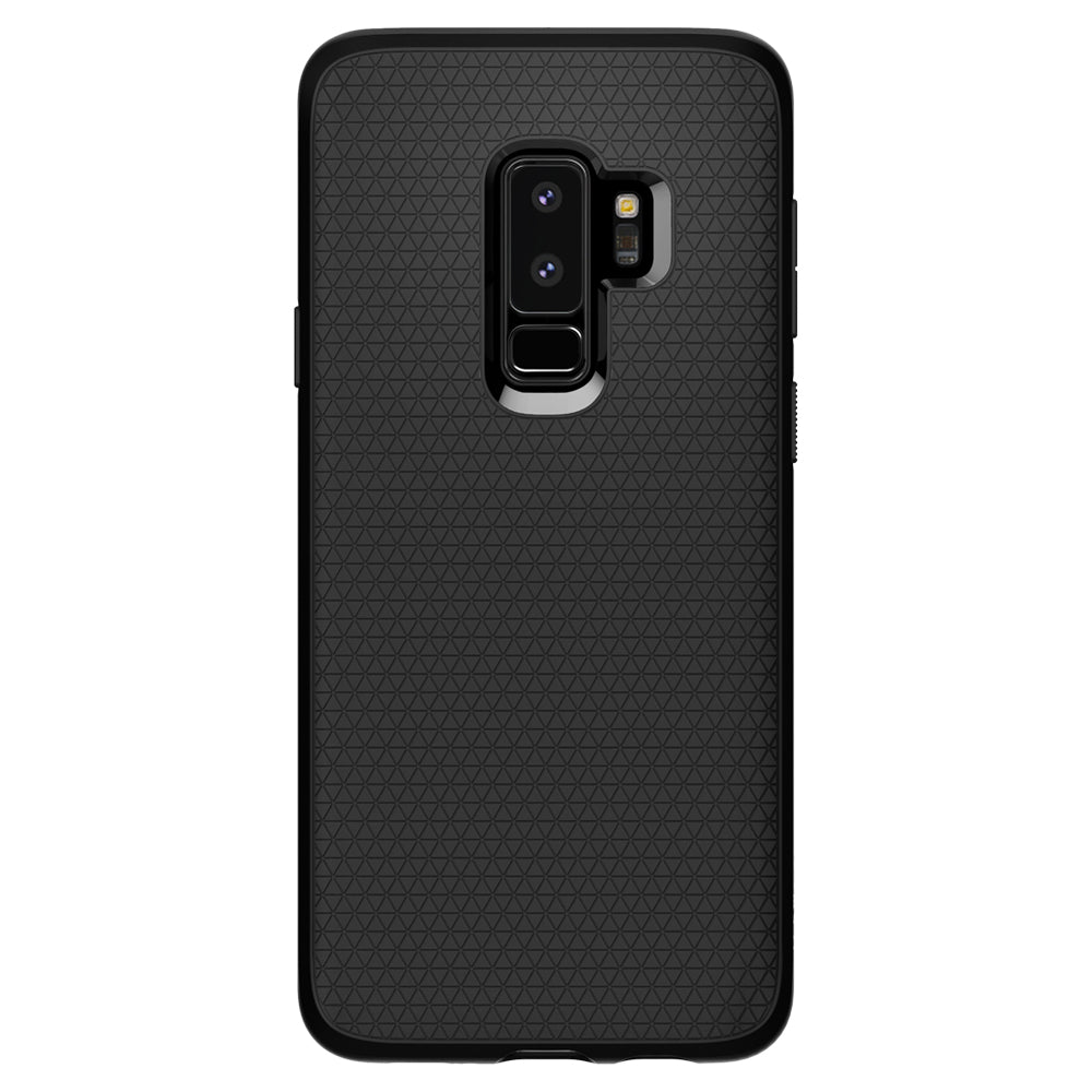 Spigen Galaxy S9+ Case Liquid Air Matte Black 593CS22920