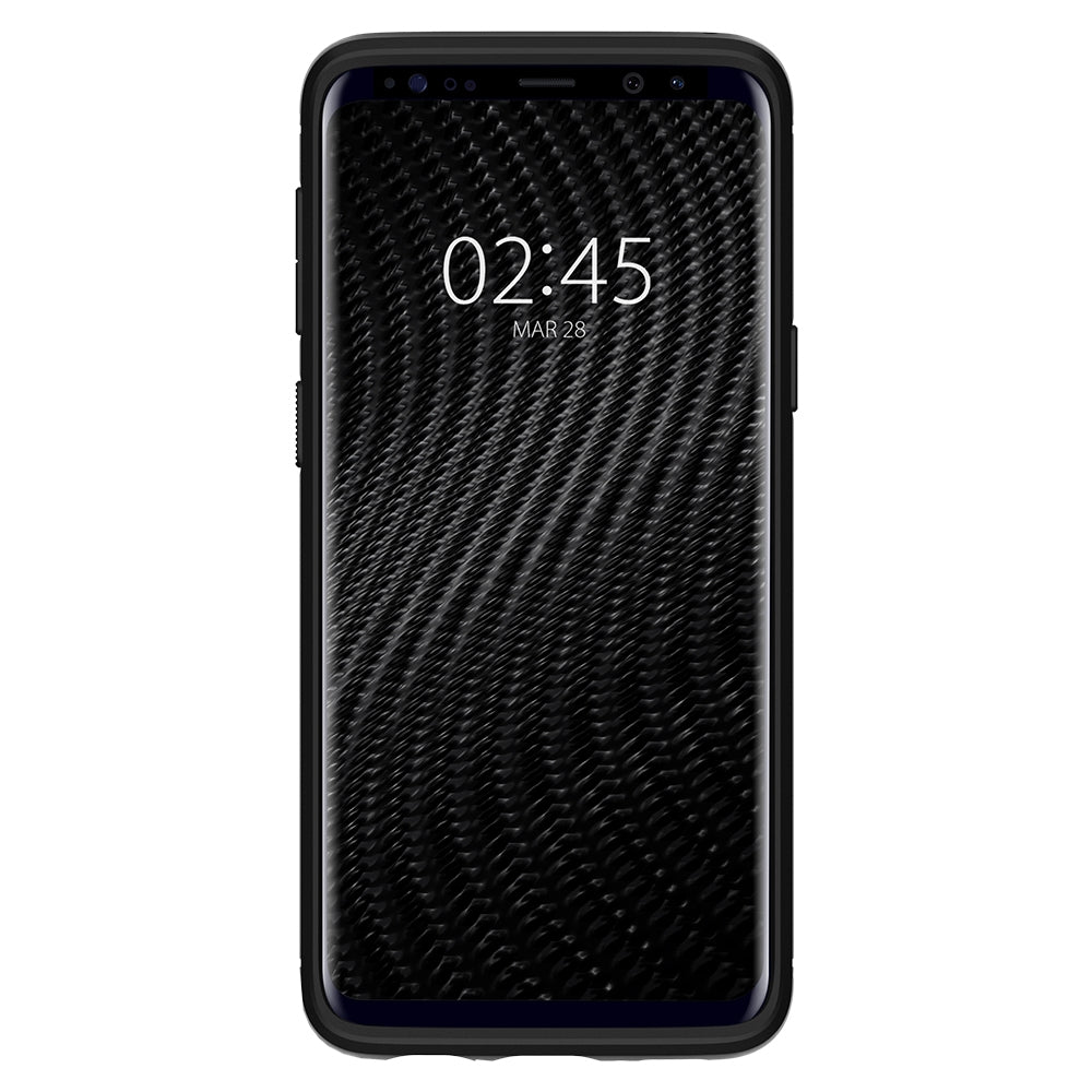 Spigen Galaxy S9 Case Rugged Armor Matte Black 592CS22834