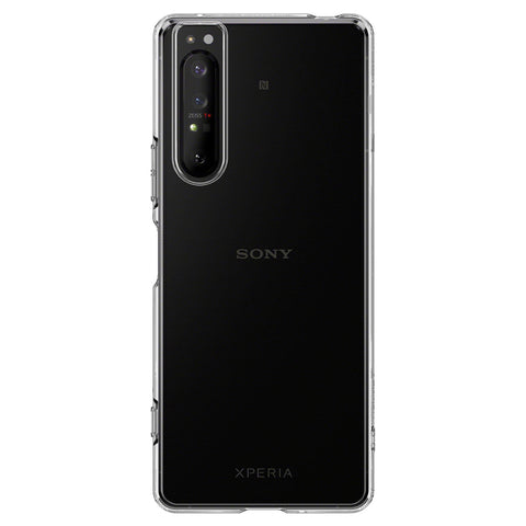 Sony Xperia 1 II Case Liquid Crystal Crystal Clear (Strap Hole) ACS01182
