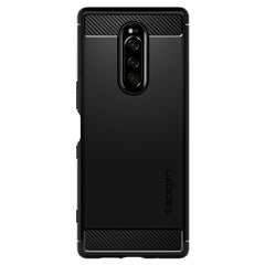 Spigen Xperia 1 Case Rugged Armor Matte Black G15CS26201