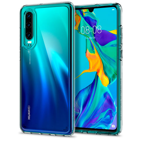 Spigen HUAWEI P30 Case Ultra Hybrid Crystal Clear L38CS25737