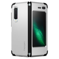Spigen Galaxy Fold Case Tough Armor Satin Silver 615CS26166