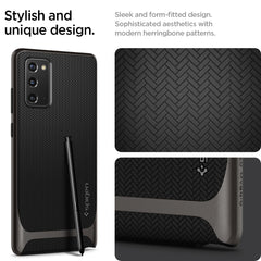 Galaxy Note 20 Case Neo Hybrid Gunmetal ACS01425