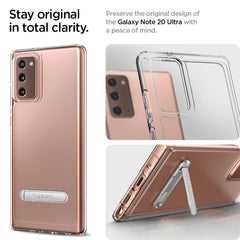 Galaxy Note 20 Case Ultra Hybrid S Crystal Clear ACS01421