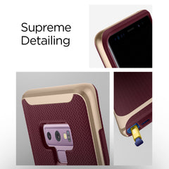 Spigen Galaxy Note 9 Case Neo Hybrid Burgundy 599CS24592