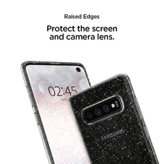 Spigen Galaxy S10+ Case Liquid Crystal Glitter Crystal Quartz 606CS25762