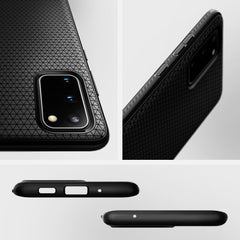 Spigen Galaxy S20 Plus Case Liquid Air Matte Black ACS00754