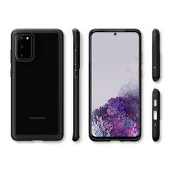 Spigen Galaxy S20 Plus Case Ultra Hybrid Black ACS00756
