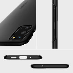 Spigen Galaxy S20 Case Thin Fit Matte Black ACS00788