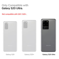 Spigen Galaxy S20 Ultra Case Liquid Crystal Crystal Clear ACS00709