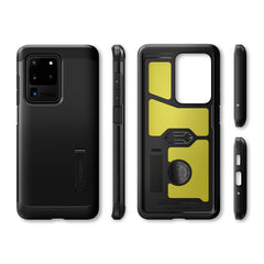 Spigen Galaxy S20 Ultra Case Tough Armor Black ACS00716