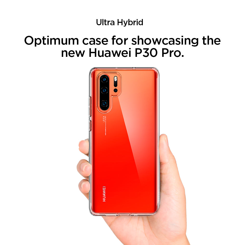 Spigen HUAWEI P30 Pro Case Ultra Hybrid Crystal Clear L37CS25728
