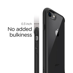 Spigen iPhone SE (2020) / iPhone 8 / iPhone 7 Case Ultra Hybrid 2 Black 042CS20926
