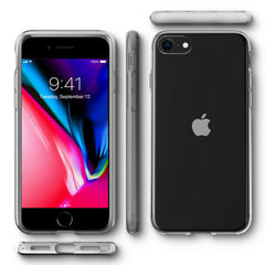 Spigen iPhone SE (2020) / iPhone 8 / iPhone 7 Case Liquid Crystal Crystal Clear 042CS20435