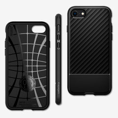Spigen iPhone SE (2020) / iPhone 8 / iPhone 7 Case Core Armor Matte Black ACS00881