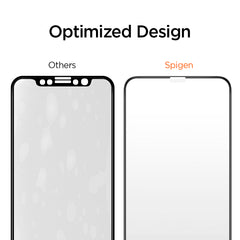 Spigen iPhone 11 Pro Screen Protector Glas.tR Slim Full Coverage Black (1pack) AGL00173