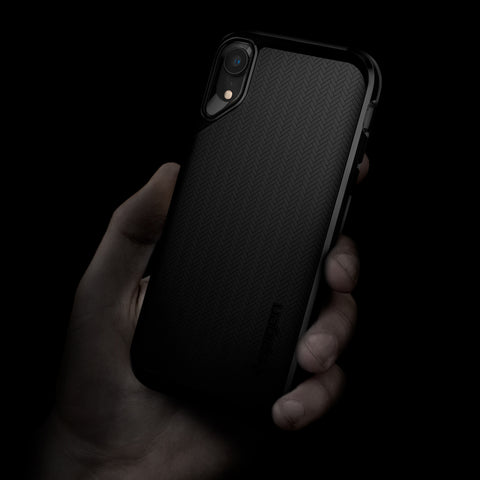 Spigen iPhone XR Case Neo Hybrid Jet Black 064CS24879