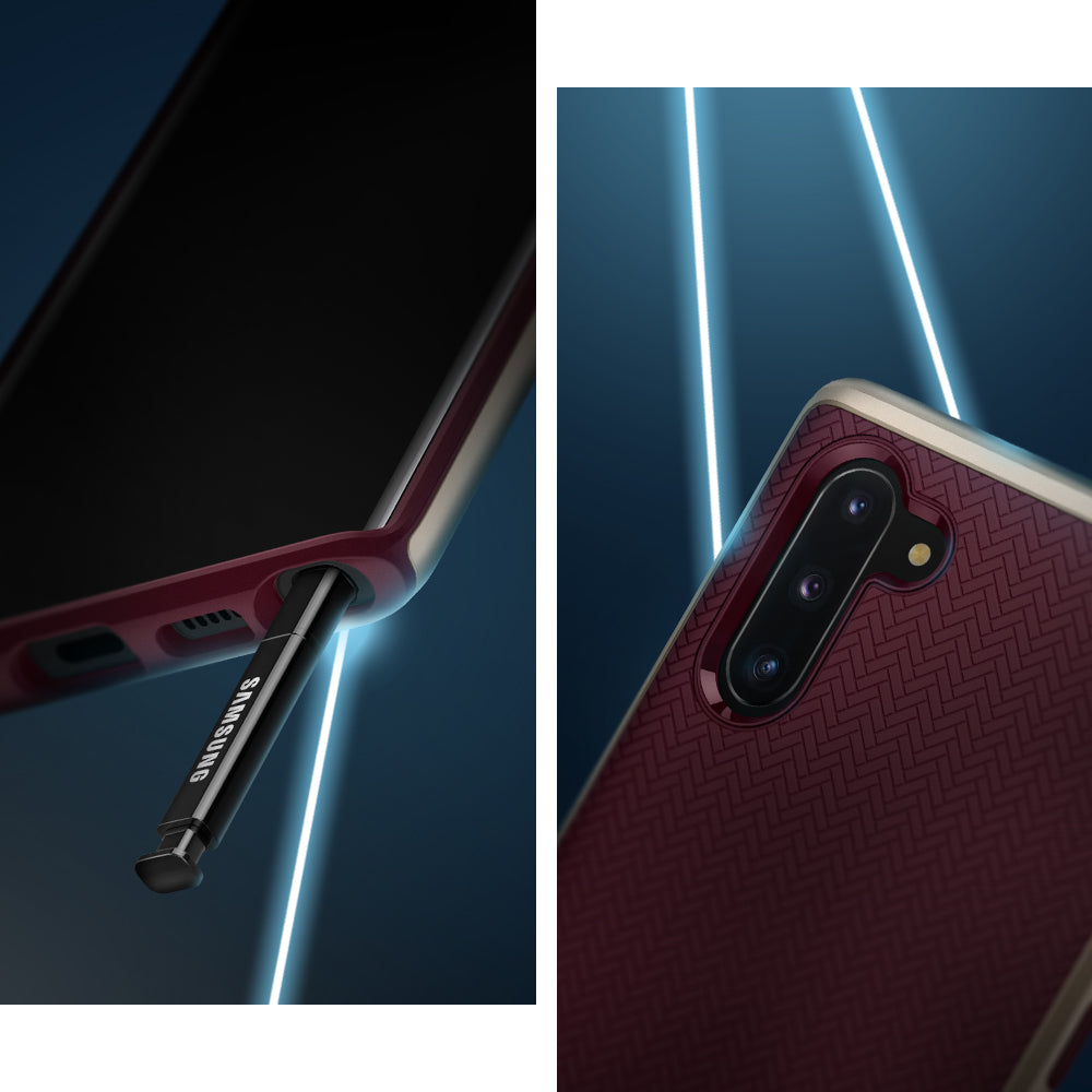 Spigen Galaxy Note 10 Case Neo Hybrid Burgundy 628CS27383
