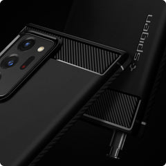 Galaxy Note 20 Ultra Case Rugged Armor Matte Black ACS01391