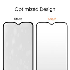 Spigen OnePlus 6T Screen Protector Glas.tR Slim Full Cover Black K07GL25446