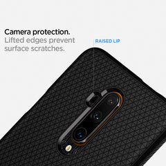 Spigen OnePlus 7T Pro Case Liquid Air Matte Black ACS00313