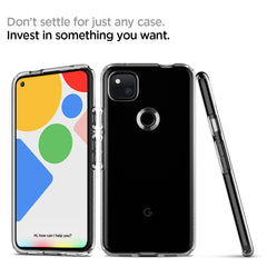 Pixel 4a Case Liquid Crystal